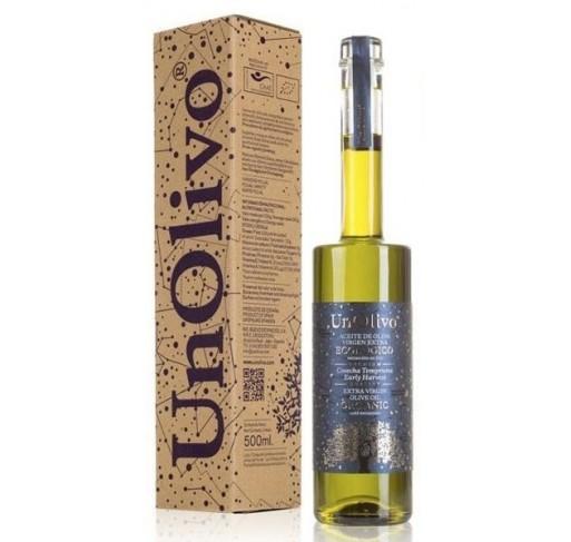 AOVE Ecológico Superior Cosecha Temprana UnOlivo. Botella 500 ml.