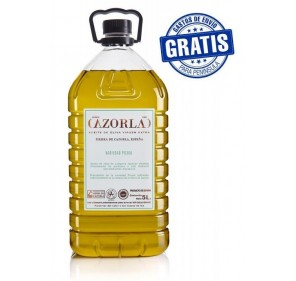 Cazorla. Picual olive oil. 4 bottles of 5 liters