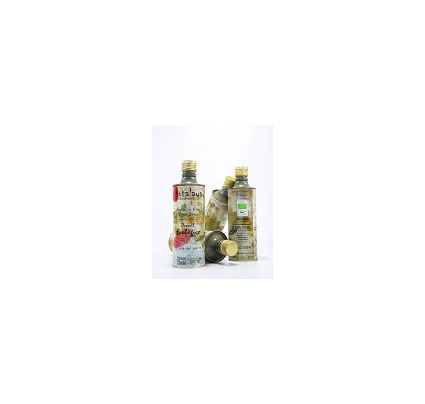 Kit Zabaleta. Picual Ecológico. Botella 2x500ml