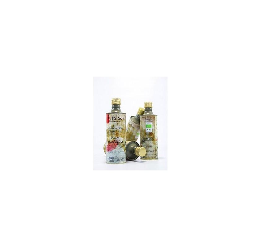 Kit Zabaleta. Picual Ecológico. Botella 2x500ml