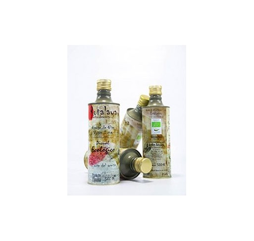 Rotalaya. Kit Zabaleta. Picual Ecológico. Botella 2x500ml