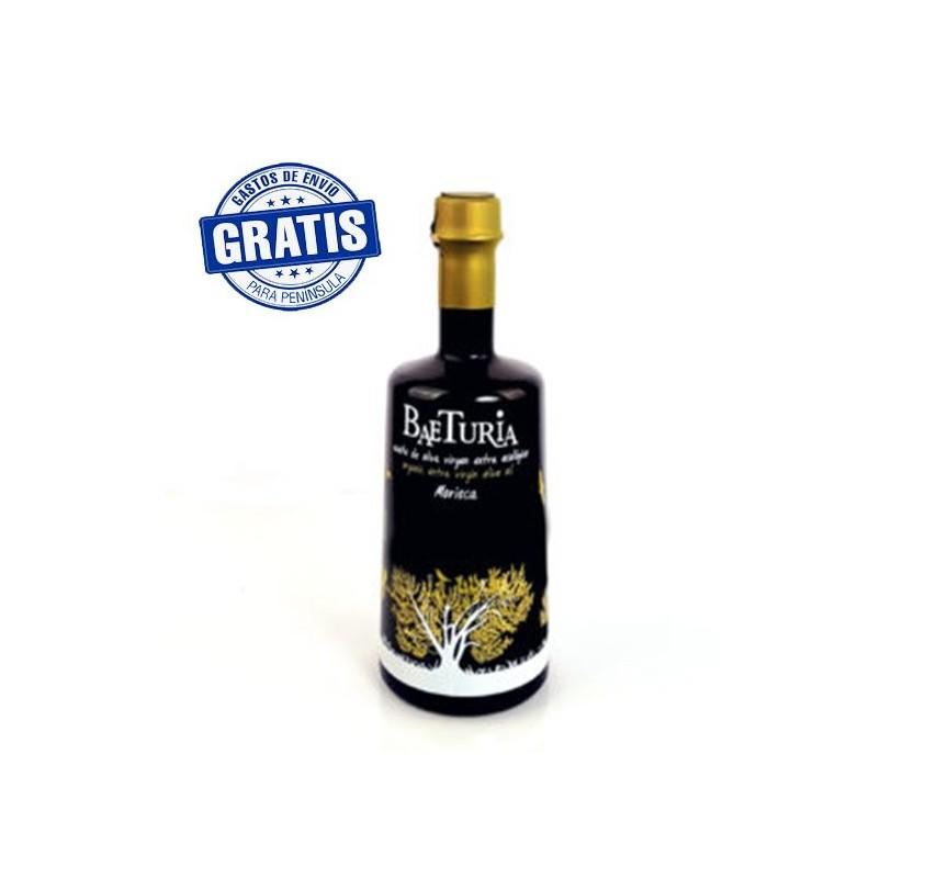Baeturia. Variedad Morisca. Caja de botellas 8x500ml.