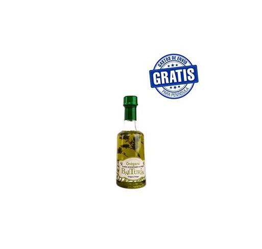 Baeturia Aromatizado con orégano. Caja de 12 botellas.