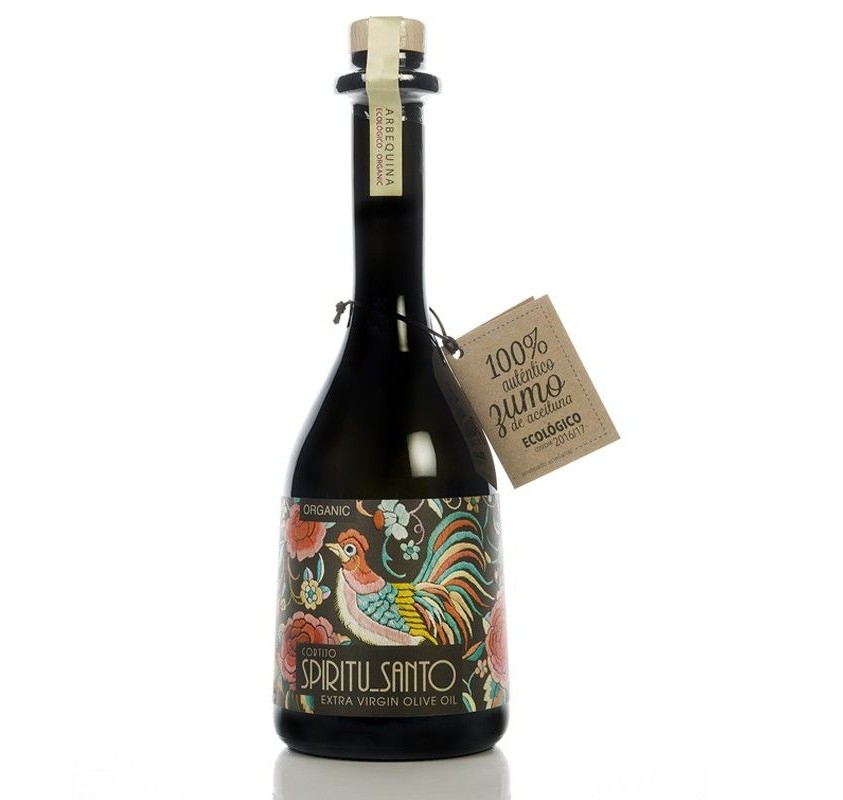 Spiritu Santo. AOVE Ecológico Arbequino. Botella de 500ml.