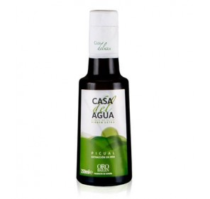 Extra virgin olive oil. Casa del Agua. 250 ml glass bottle.