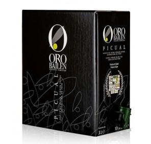 Oro Bailén. Bag in box de 3 litros, variedad picual