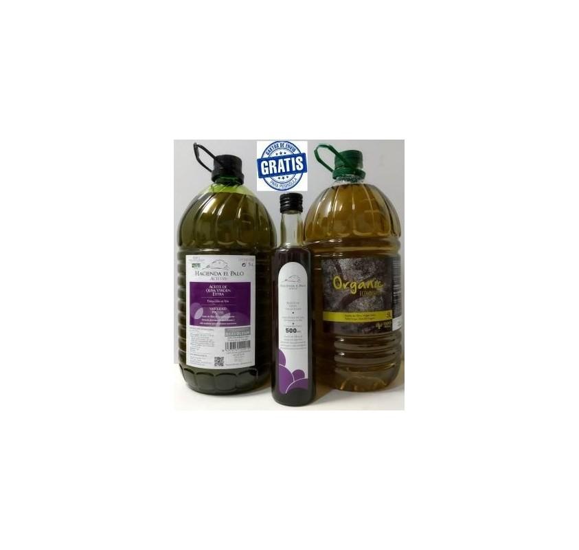 Organic + Hacienda + nuevo aceite