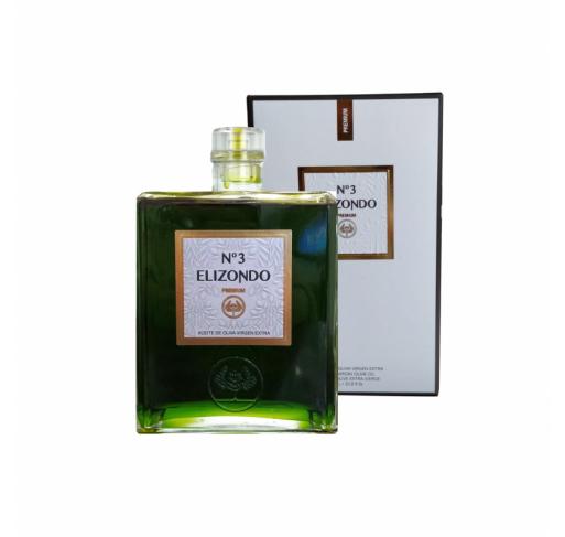 Elizondo N.3. 1 Liter glass bottle.
