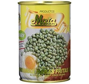 "Beans fried in olive oil ""Mata"". Lata 420 gr."