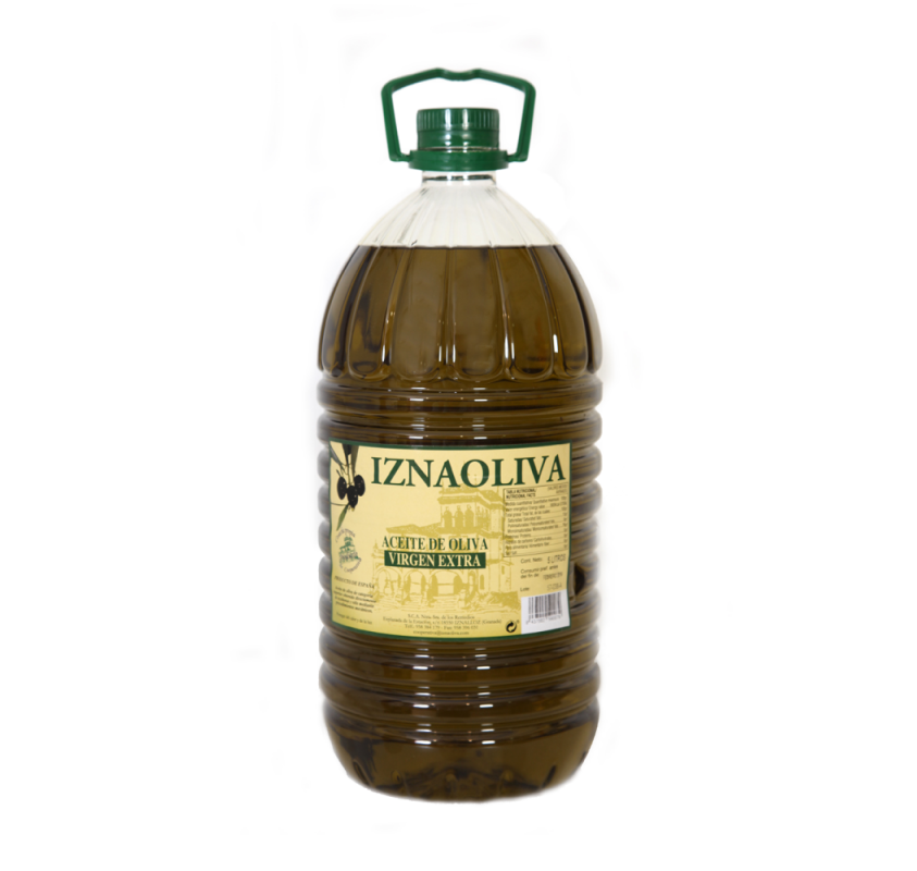 Iznaoliva. Picual Olive oil. 5 Liters
