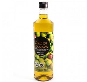 Oro de Cánava. Aceite de oliva Picual. 1 Litro.