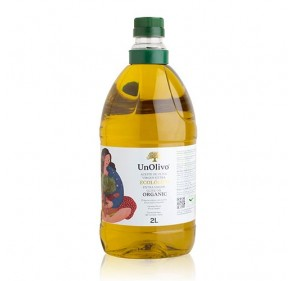 Ecologic Virgin extra olive oil. UnOlivo. 2 litters