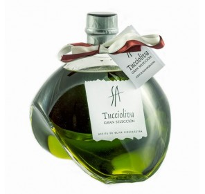 Tuccioliva. Picual Olive oil. Delirio glass bottle 500 ml