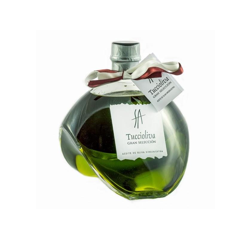 Tuccioliva. Picual Olive oil. Delirio glass bottle 500 ml