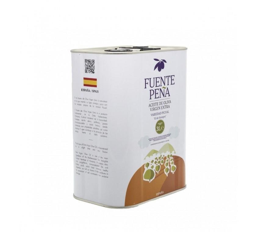 Fuente Peña. Lata de 5 litros.