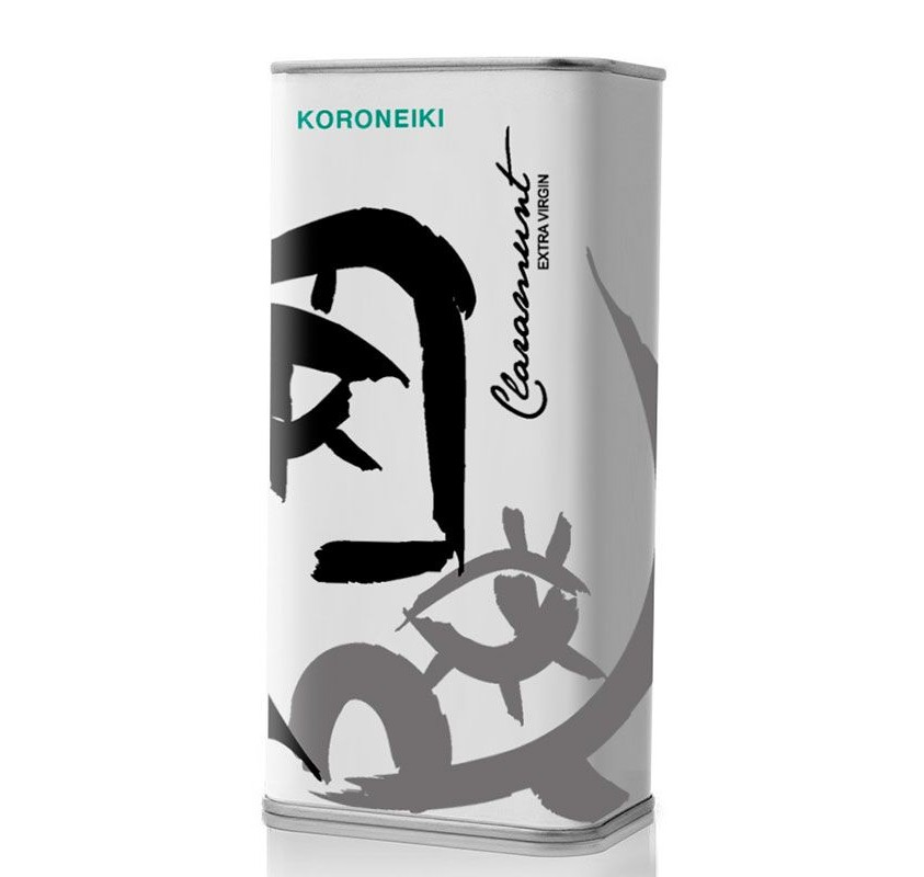 Claramunt. Aceite de oliva Koroneiki. Lata 250 ml. Caja de 25 unidades.
