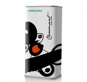 Claramunt. Aceite de Oliva  Arbequina. Lata 250 ml.