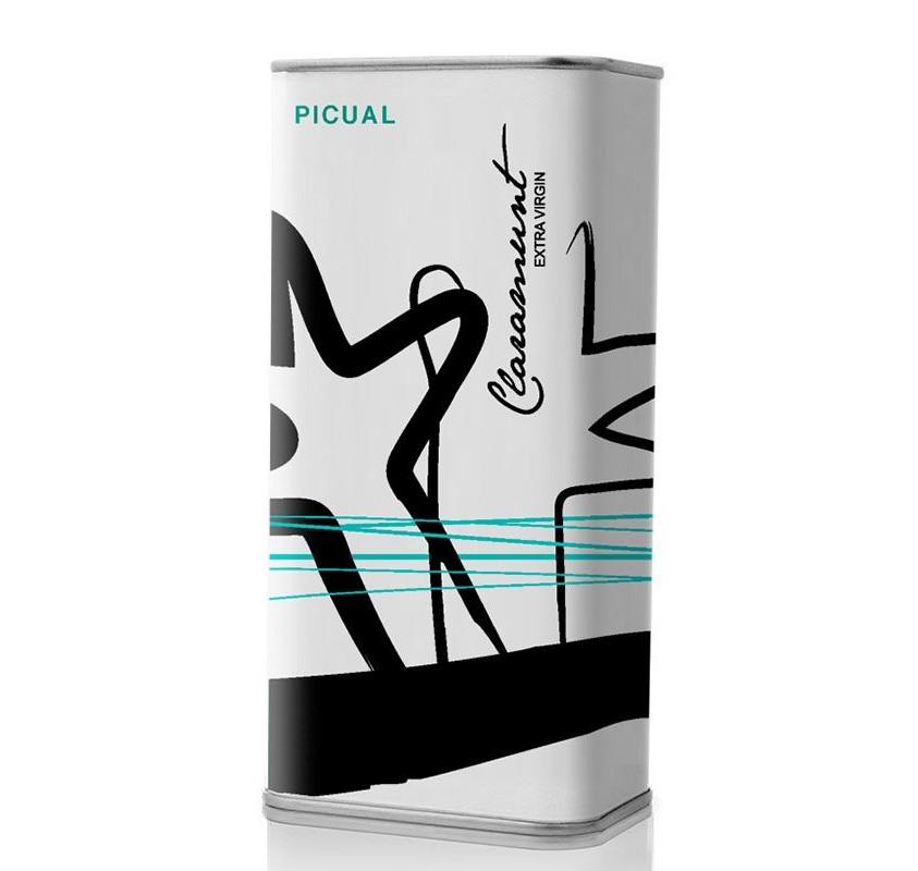 Claramunt. Aceite de Oliva Picual. Lata 250 ml.