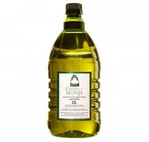 Cortijo la Monja. Extra Virgin Olive oil. 6 x 2 liter box.