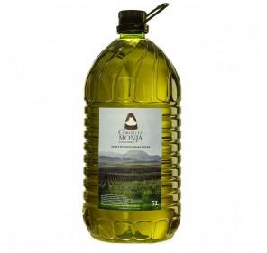 Cortijo la Monja. Extra Virgin Olive oil. 3 x 5 liter box.