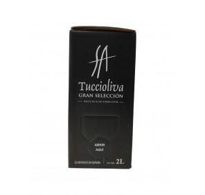 Tuccioliva. Extra Virgin olive oil. Bag in Box 2 Liters.