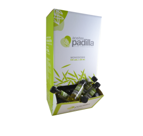 Padilla 1808. EVOO Miniatures. Box of 100 x 25 ml.