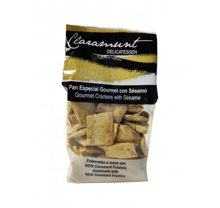 Claramunt Delicatessen. Special Gourmet Bread with Sesámo.