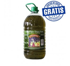 García Morón. Picual Olive oil. 3 Bottles of 5 Liters