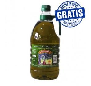 García Morón. Picual Olive oil. 6 bottles of 2 Liters.