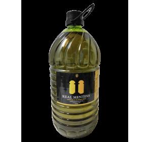 Real Mentesa. Aceite de oliva virgen extra. Garrafa PET 5 Litros.