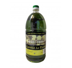 Picual extra virgin olive oil Cortijo la Torre. 2 liters