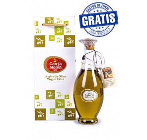 García Morón. EVOO Picual. Egyptian jug with bag. 500 ml.