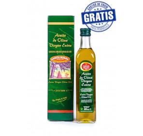 García Morón. Marasca AOVE Picual. Case with 500 ml bottle.
