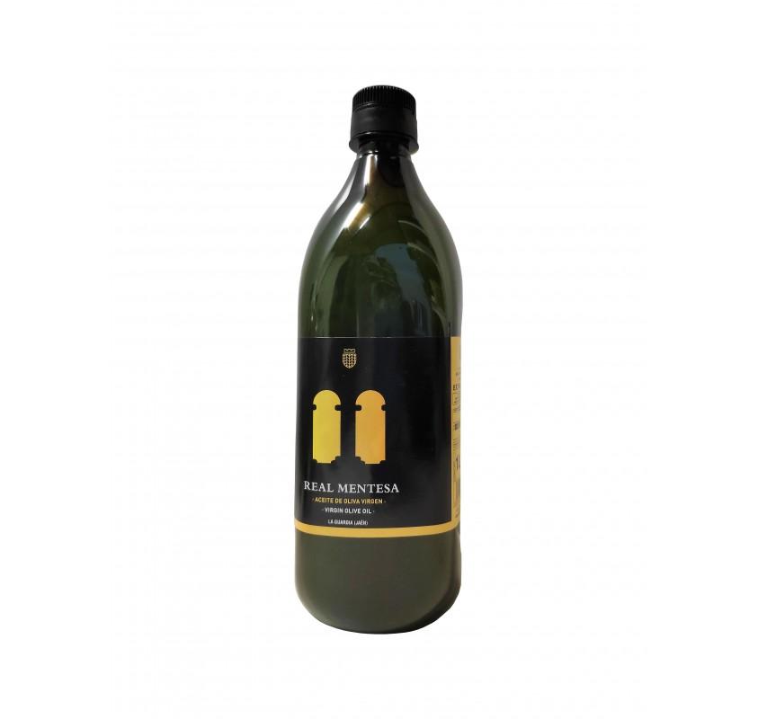 Real Mentesa. Aceite de oliva virgen extra. Botella PET 1 Litro.