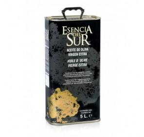 Esencia del Sur. EVOO Picual. Box of 4 cans of 5 liters.