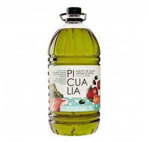Picualia. Aceite de oliva Picual. Garafa 5 Litros.