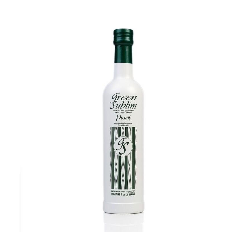 AOVE Picual Green Sublime. Caja de 3 botellas de 500 ml.
