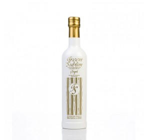 EVOO Royal Green Sublim. Box of 3 bottles of 500 ml.