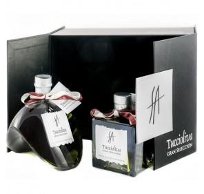 EVOO Picual Tuccioliva. Delirio + Mystic gift box.