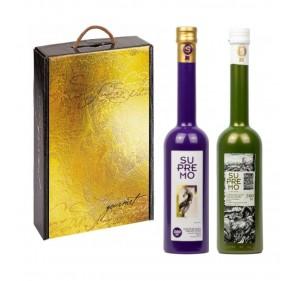 Supremo. Gift Box. Picual and Cornezuelo. 500 ml.