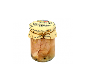 Pickled Iberian secret. Box of 6 x 400 gr.