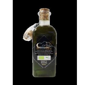AOVE Corbio Ecológico. Frasca de 500 ml.