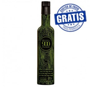 Organic EVOO 900 ORGANIC. Box of 12 bottles of 500 ml.