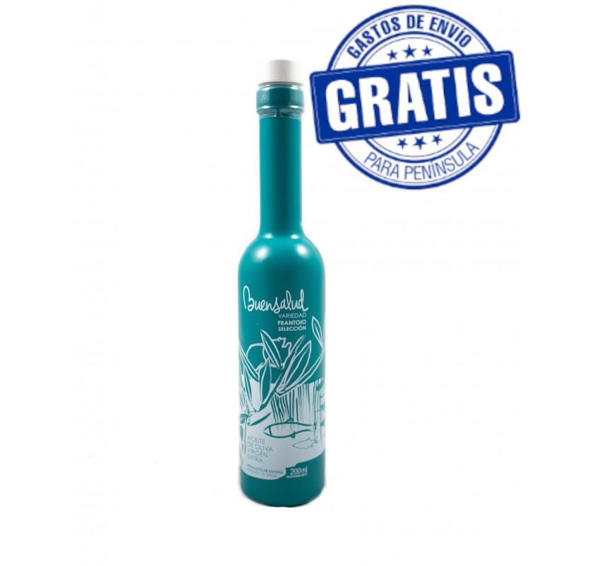 Buensalud Frantoio Selection. Box of 12 bottles of 200 ml.