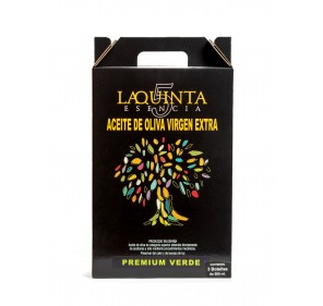 La Quinta Esencia. Case Premium green 500 ml.