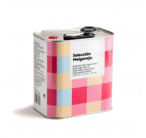AOVE Selección Melgarejo. Caja de 4 latas de 2,5 litros.