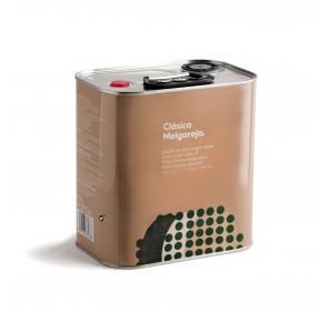 AOVE Clásico Melgarejo. Caja de 4 latas de 2,5 litros.