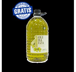 Olibaeza EVOO. Box of 3 bottles of 5 liters.