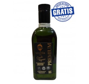 Vergilia Jar Premium EVOO. Box of 6 x 500 ml.