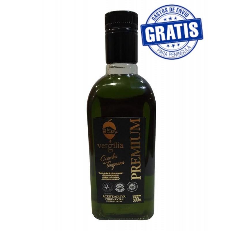 AOVE Vergilia Frasca Premium. Caja de 6 x 500 ml.